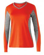 Holloway Ladies' Polyester Long Sleeve Stellar Shirt