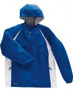 Holloway Adult Polyester ¼ Zip Hooded Hurricane Jacket