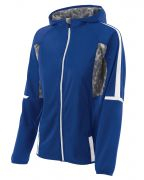 Holloway Ladies' Polyester Full Zip Hooded Fortitude Jacket