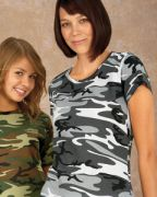 Code Five Ladies' Camo T-Shirt