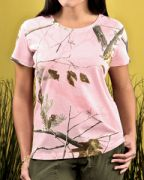 Code Five Ladies' Realtree® Camo T-Shirt