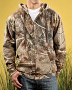 Code Five Men's REALTREE® Camo Zip Fleece Hoodie