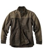 Dri Duck Men's 100% Cotton 12oz Canvas/3oz Polyfill Insulation Tall Horizon Jacket