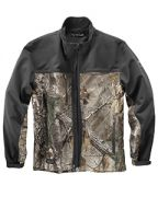 Dri Duck Men's 90% Polyester/10% Spandex Water Resistant Softshell Tall Motion Jacket
