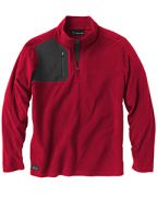 Dri Duck Men's 100% Polyester Nano Fleece TM ¼ Zip Interval Pullover
