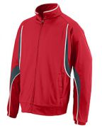 Augusta Adult Polyester Brushed Tricot Jacket