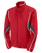 Augusta Ladies Polyester Brushed Tricot Jacket