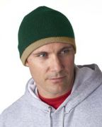 UltraClub Adult Two-Tone Knit Beanie