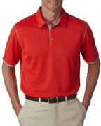 adidas Golf Men's climacool Mesh Color Hit Polo