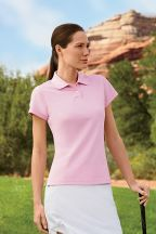adidas Golf Ladies' climalite Tour Pique Short-Sleeve Polo