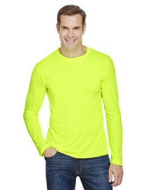 Bayside Unisex 4.5-ounce., 100% Polyester Performance Long-Sleeve T-Shirt