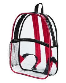 BAGedge Clear PVC Backpack