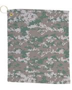 Pro Towels Small Camo Golf Towel