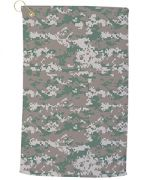 Pro Towels Large Camo Golf Towel