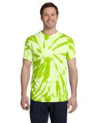 Adult 5.4-ounce., 100% Cotton Twist Tie-Dyed T-Shirt