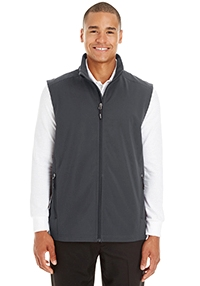 Ash City - Core 365 Men's Cruise Two-Layer Fleece Bonded Soft Shell Vest