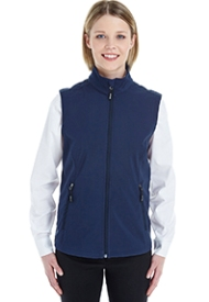 Ash City - Core 365 Ladies' Cruise Two-Layer Fleece Bonded Soft�Shell Vest