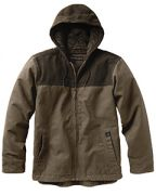 Dri Duck Men's 12-ounce. 100% Cotton Canvas Hooded Terrain Jacket