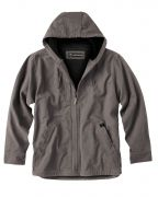 Dri Duck Men's 100% Cotton 12-ounce. Canvas/Polyester Thermal Lining Hooded Tall Laredo Jacket