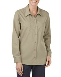 Dickies Ladies' Industrial Long-Sleeve Work Shirt