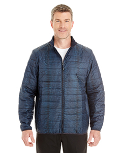 Ash City - North End Men's Portal Interactive Printed Packable Puffer Jacket