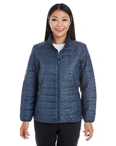 Ash City - North End Ladies' Portal Interactive Printed Packable Puffer Jacket