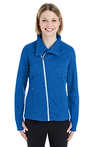 Ash City - North End Ladies' Amplify Melange Fleece Jacket