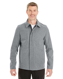 Ash City - North End Men's Edge Soft Shell Jacket with Fold-Down Collar