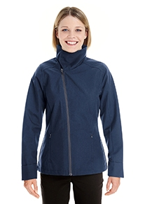 Ash City - North End Ladies' Edge Soft Shell Jacket with Convertible Collar