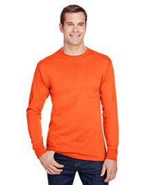 Hanes Adult Workwear Long-Sleeve Pocket T-Shirt