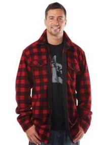 Men's Lumberjack Fleece Shirt