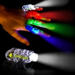"1.5"" Multi-Color Light Up Finger Lights"