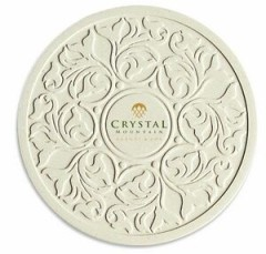 "Victorian Lace CoasterStone Absorbent Stone Coaster - Single (4.25"")"