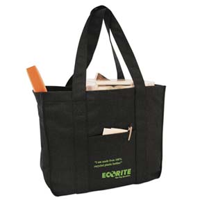 "Recycled Carry-All Tote Bag -- 16"" x 14"" x 7"""