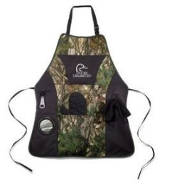 Camo Tree/ Black Grill Master Apron Kit
