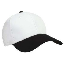 Nu-Fit® Pro Style Cotton Spandex Fitted Cap-Two Tone