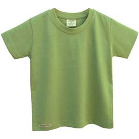 EcoEFX Organic Toddler Short Sleeve Crew Neck Tee