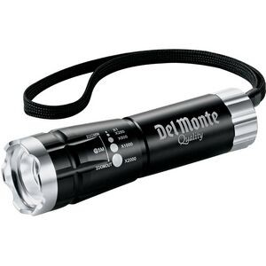 Zoomed LED Flashlight