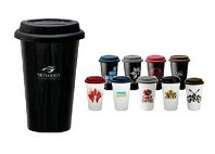 Double-Wall Ceramic Tumbler 11oz