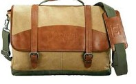Cutter & Buck Legacy Cotton Compu-Messenger Bag