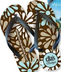 Full-Color Flip Flops