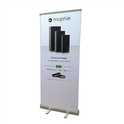 "33""x80"" Economy Retractable Banner Stand"