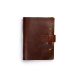 Parley Hand Sewn Leather Journal w/ Buckle Closure