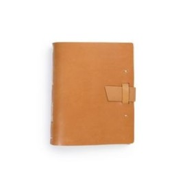 Hand Sewn Leather Traveler Journal w/ Buckle Closure