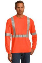 CornerStone® ANSI 107 Class 2 Long Sleeve Safety T-Shirt