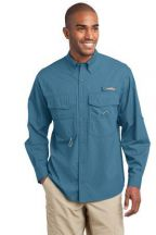 Eddie Bauer® - Long Sleeve Fishing Shirt