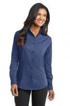 Port Authority® Ladies Tonal Pattern Easy Care Shirt