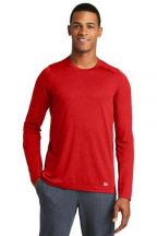 New Era ® Series Performance Long Sleeve Crew Tee