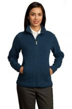 Red House® - Ladies Sweater Fleece Full-Zip Jacket