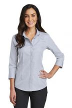 Red House®  Ladies 3/4-Sleeve Nailhead Non-Iron Shirt